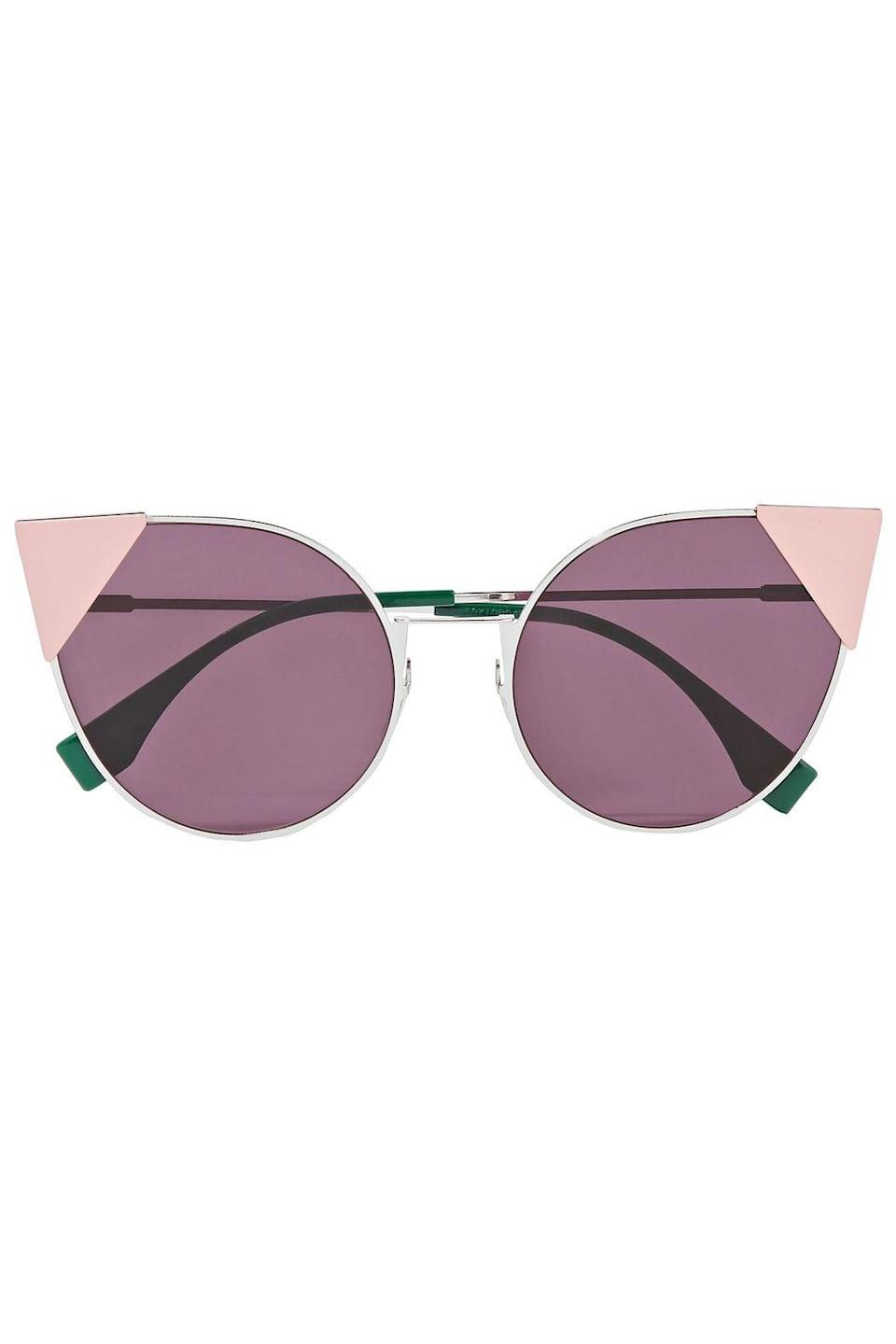 <p>These <span>Fendi Pink Cat-Eye Sunglasses</span> ($302, originally $540) are such a statement.</p>