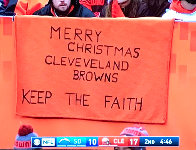 Oh, Browns fans. (Part 1, via screenshot)
