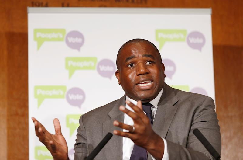 Labour's David Lammy (REUTERS/Peter Nicholls)