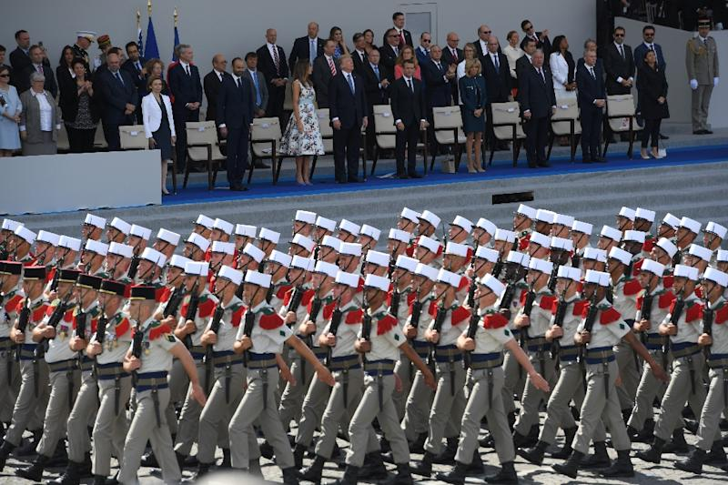 When US President Donald Trump visited Paris last July for Bastille Day, he made no secret of his awe for the pomp and ceremony of the occasion