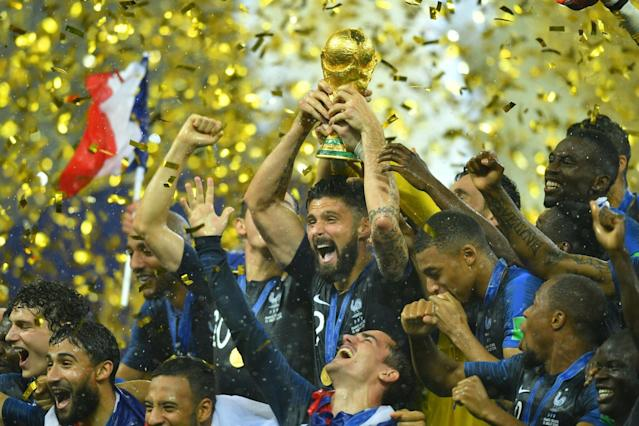 France lifted the men's World Cup trophy in 2018, and made plenty of money while doing so.