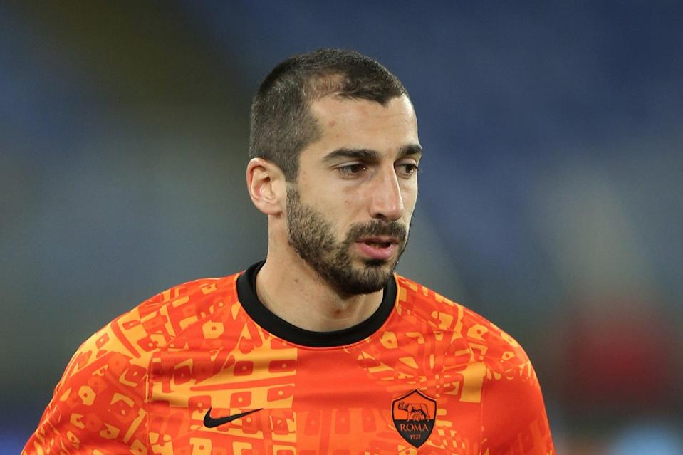 <p>Roma's Henrikh Mkhitaryan faces former club Manchester United in the Europa League</p> (Getty Images)