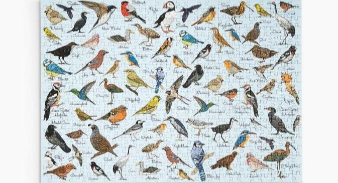 M&S has apologised for up to 15 mistakes found by shoppers in a 500-piece bird jigsaw puzzle [Image: M&S]