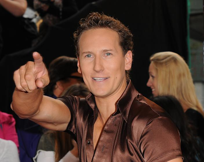 LONDON, UNITED KINGDOM - SEPTEMBER 08: Professional dancer Brendan Cole attends the 'Strictly Come Dancing' Season 8 Launch Show at BBC Television Centre on September 8, 2010 in London, England. (Photo by Stuart Wilson/Getty Images)