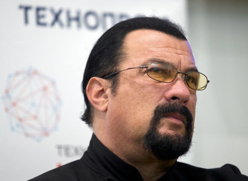 Action movie star Steven Seagal named Russia's humanitarian envoy with US