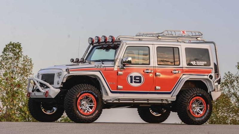 Custom SUVs Built For Auction Stolen From Kids Cancer Charity