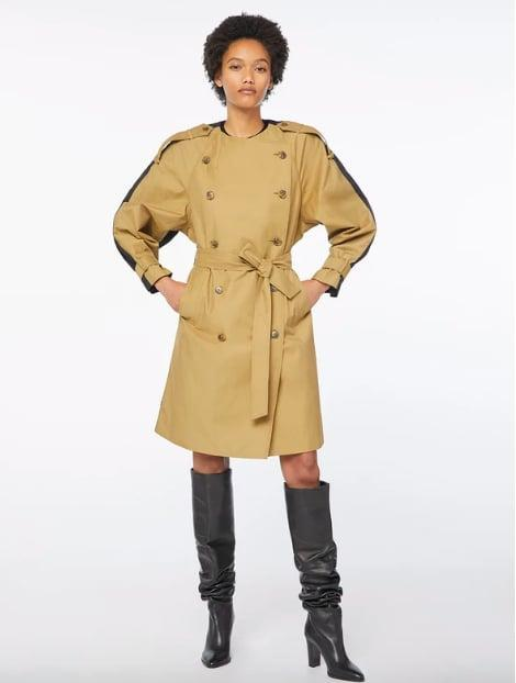 <p>This colorblock trench is a look all on it's own.</p> <p><span>Frame Colorblocked Trench Cargo Multi</span> ($238, originally $595)<br></p>