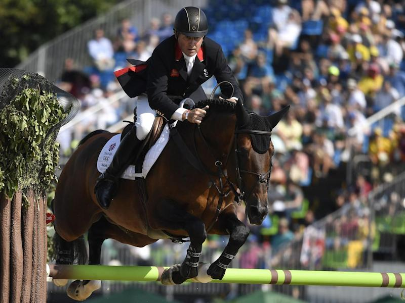 Skelton won gold in the team jumping event at London 2012 (Getty)