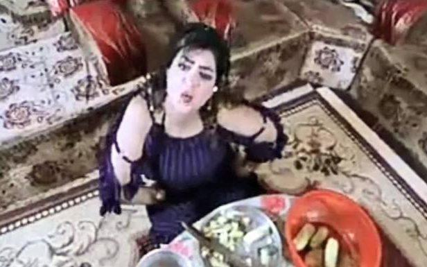 """The singer Leila Amer has been accused of """"incitement to immorality"""" over her pop video"""
