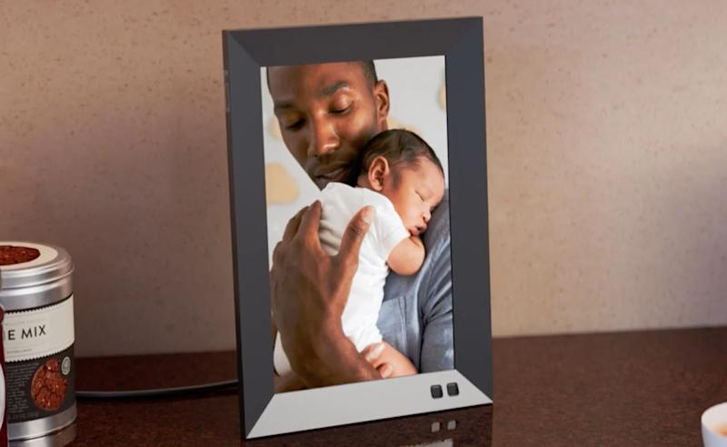 Nixplay Seed 10.1-inch Widescreen Digital Wi-Fi Photo Frame. (Photo: Nixplay)