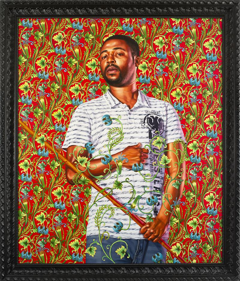 Portrait of Jazon Ralph, 2018. Oil on canvas. 72 x 60 inches.