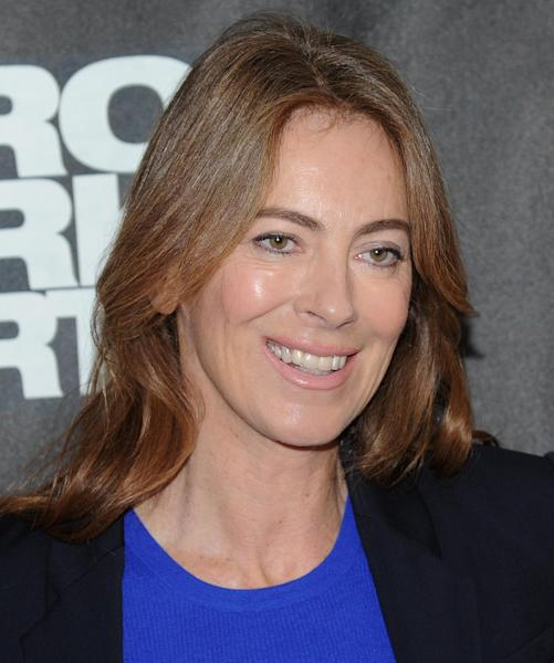 """FILE - In this Tuesday, Dec. 4, 2012 file photo, director Kathryn Bigelow participates in a """"Zero Dark Thirty"""" photo call in New York. The film was nominated for an Academy Award and Mark Boal was nominated for best original screenplay for the film but Bigelow was not nominated for best director. (Photo by Evan Agostini/Invision/AP, File)"""