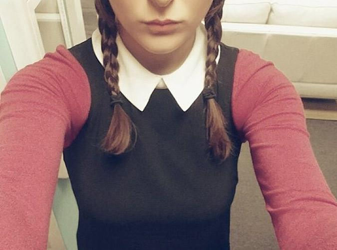 <h2>4. Wednesday Addams Meets 'Mean Girls'</h2> <p>On Wednesdays, we wear pink.</p>