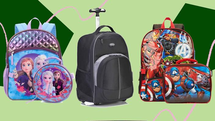 We found back-to-school sales on backpacks at retailers like Amazon and Walmart. (Photo: HuffPost Finds)