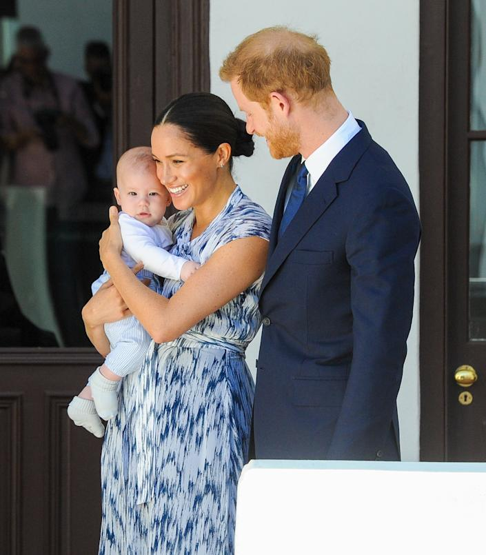 A new clip of Prince Harry and Meghan Markle, who are pregnant with their second child after Archie, during their revealing interview with Oprah Winfrey after quitting their royal job, shows Meghan, the Duchess of Sussex finally feeling free and ready to speak of being prevented from having his voice by the royal assistants.  The clip aired on CBS This Morning ahead of the U.S. network premiere Sunday night.  (Photo by DPPA / Sipa USA)