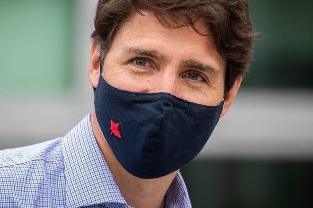 Prime Minister Justin Trudeau said that while the country is 'eager to move forward' with its border reopening, it can do so only if the safety of Canadians is not jeopardized. (Ben Nelms/CBC - image credit)