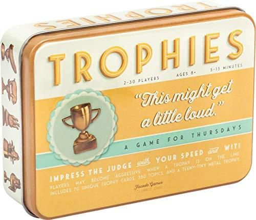 Trophies Card Game - Quick and Simple Word Party Game for 2-30 Players (Amazon / Amazon)