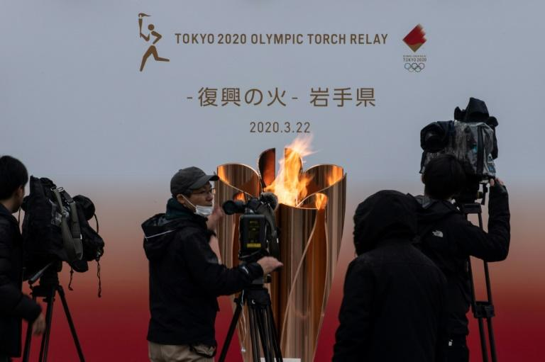 """International Olympic Committee president Thomas Bach said postponing the 2020 Games was an option but that cancellation was """"not on the agenda"""""""