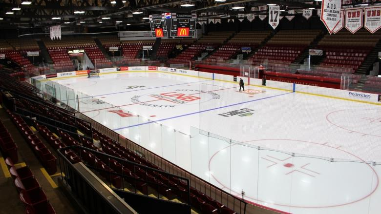 UNB Varsity Reds set to host top hockey teams at David Johnston University Cup