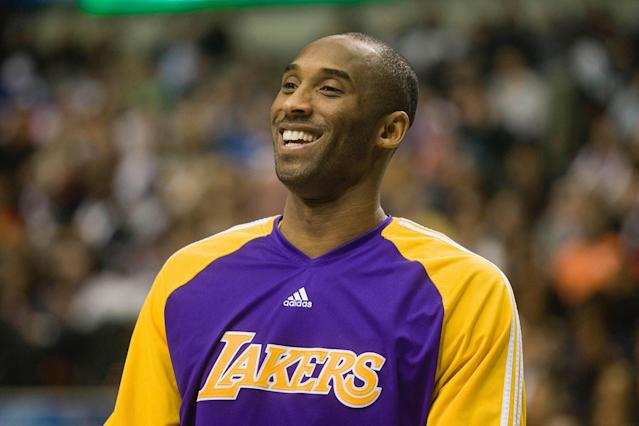 A Kobe Bryant memorabilia collection had been planned since December and drew large winning bids. (Tolga Adanali/Anadolu Agency via Getty Images)