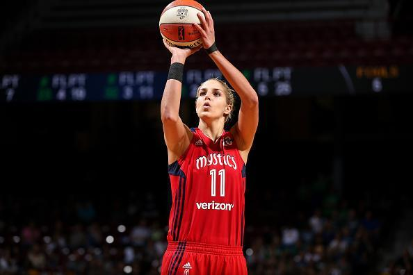 """<a class=""""link rapid-noclick-resp"""" href=""""/wnba/players/5058/"""" data-ylk=""""slk:Elena Delle Donne"""">Elena Delle Donne</a> shoots 93.4 percent from the free-throw line. (Getty)"""