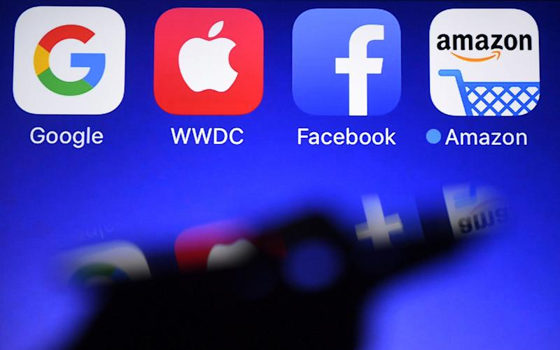 Facebook, Google, Amazon and Apple could all be affected - AFP