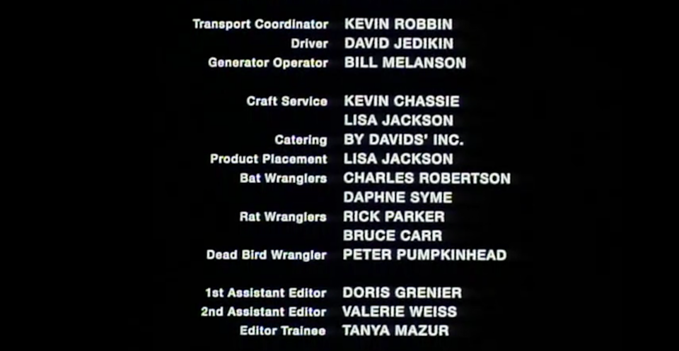 blood and donuts end credit screeenshot