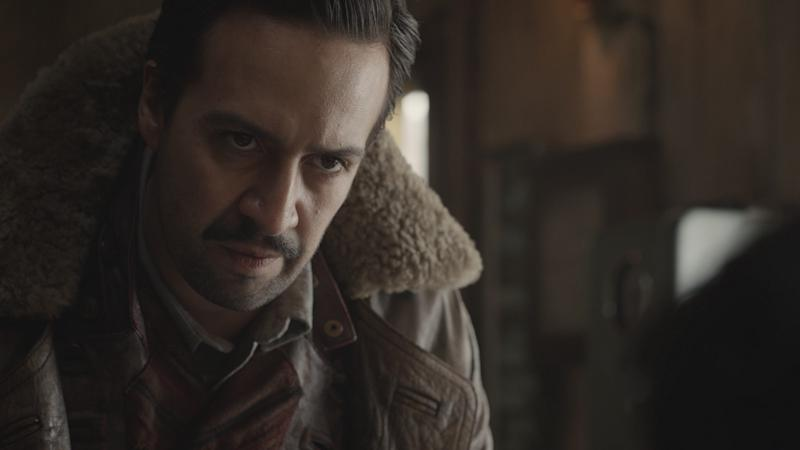 Lin-Manuel Miranda goes fantasy as Lee Scoresby in HBO's