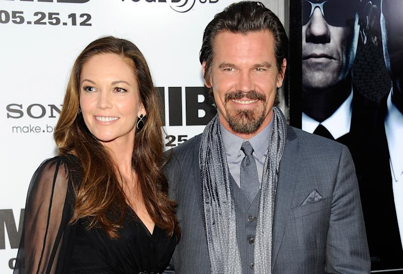 """FILE - In this May 23, 2012 file photo, actor Josh Brolin and wife Diane Lane arrive at the premiere of """"Men in Black 3"""" at the Ziegfeld Theater in New York. Court records show that Lane and Brolin's divorce was finalized by a Los Angeles court on Wednesday, Nov. 27, 2013. The pair were married in August 2004 and filed for divorce in February 2013. (Photo by Evan Agostini/Invision, File)"""