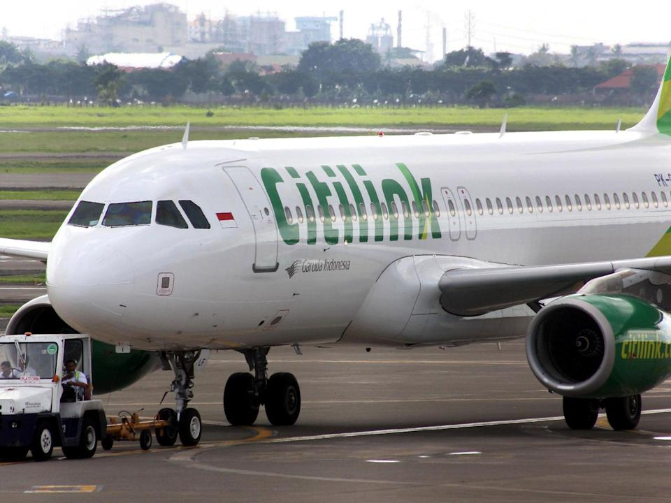 The incident reportedly happened on a Citilink flight