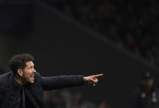 Diego Simeone's Liverpool will take a 1-0 lead to Anfield when they play Liverpool in the Champions League on Wednesday