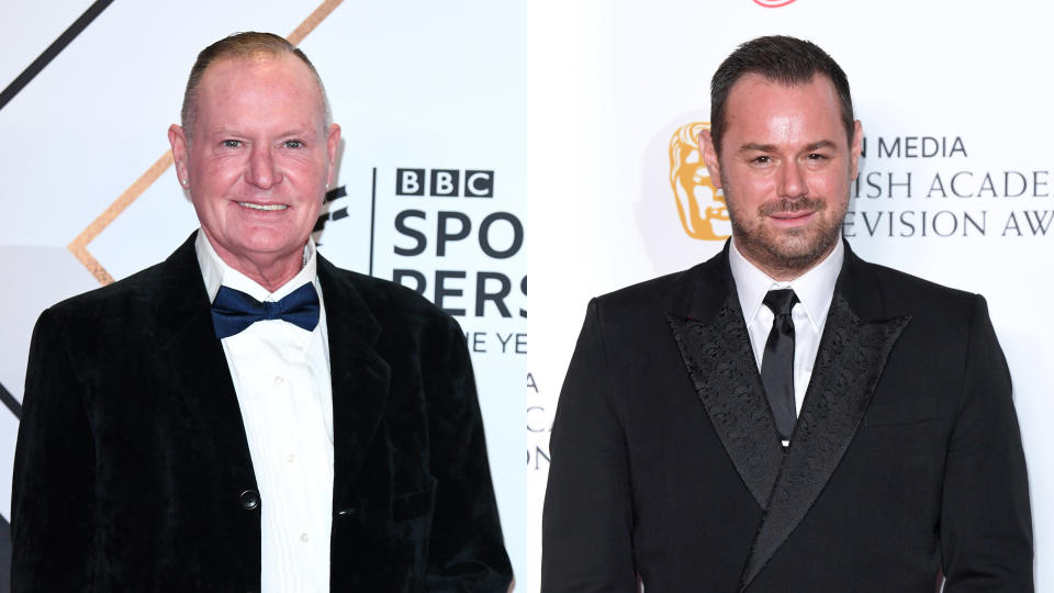 Paul Gascoigne reckons Danny Dyer is the perfect choice to play him in a movie. (Karwai Tang/WireImage)