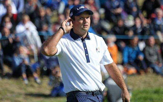 Patrick Reed cannot wait to try and rile the Australian crowds during the President's Cup - Barcroft Media