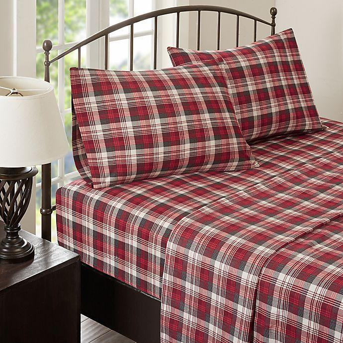 """<br><br><strong>Woolrich</strong> Woolrich® Tasha Flannel Sheet Set, $, available at <a href=""""https://go.skimresources.com/?id=30283X879131&url=https%3A%2F%2Ffave.co%2F2HLxK3z"""" rel=""""nofollow noopener"""" target=""""_blank"""" data-ylk=""""slk:Bed Bath and Beyond"""" class=""""link rapid-noclick-resp"""">Bed Bath and Beyond</a>"""