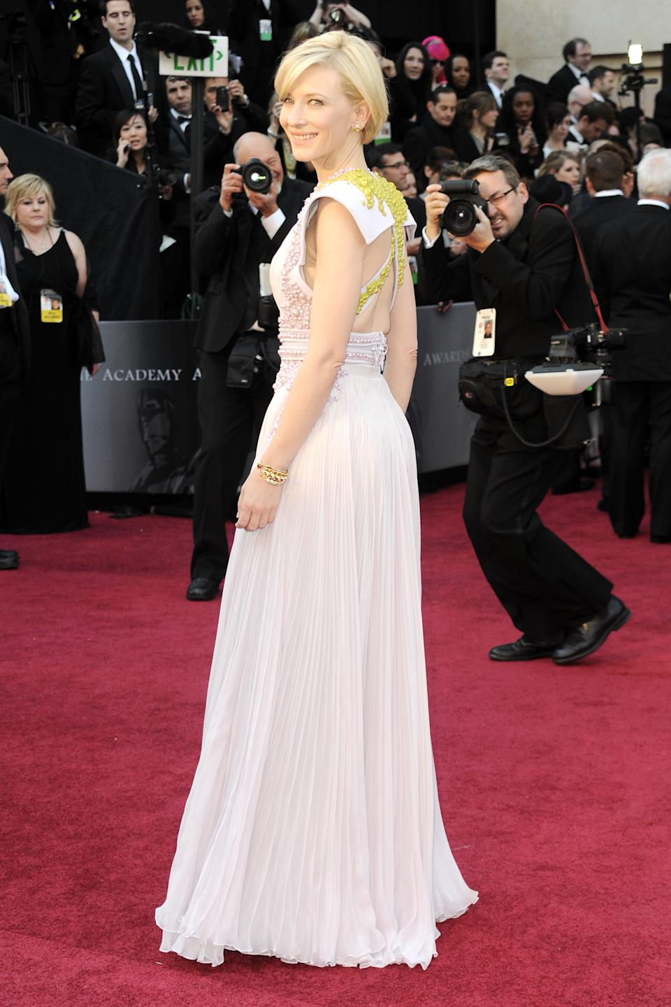 Sometimes it's best to stick to what you know. Case in point: Cate Blanchett in Givenchy SS11. [Photo: Getty]