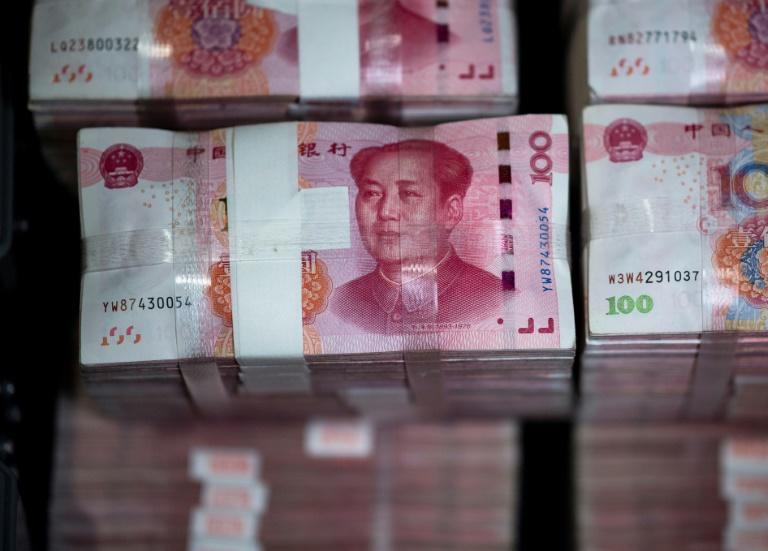 A weaker yuan makes Chinese exports cheaper, cushioning the impact of the tariffs imposed by US President Donald Trump