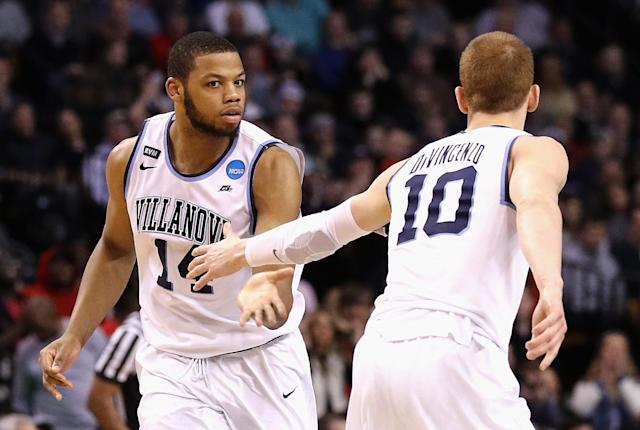 Villanova's Omari Spellman could prove to be a problem for Kansas in the Final Four. (Getty)