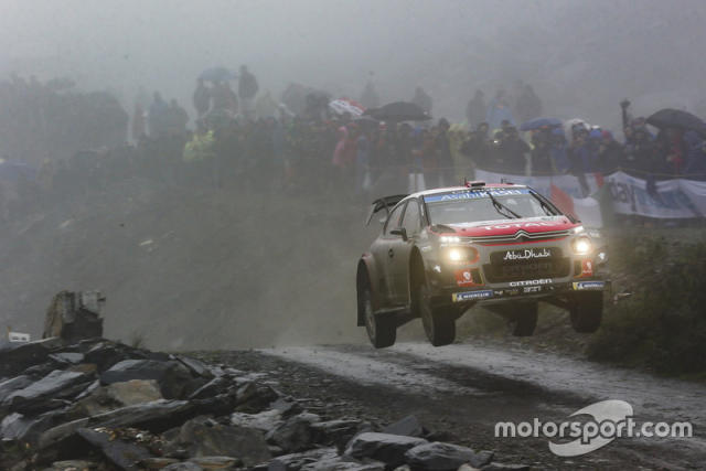 "Mads Ostberg, Torstein Eriksen, Citroën World Rally Team Citroën C3 WRC <span class=""copyright"">McKlein / Motorsport Images</span>"