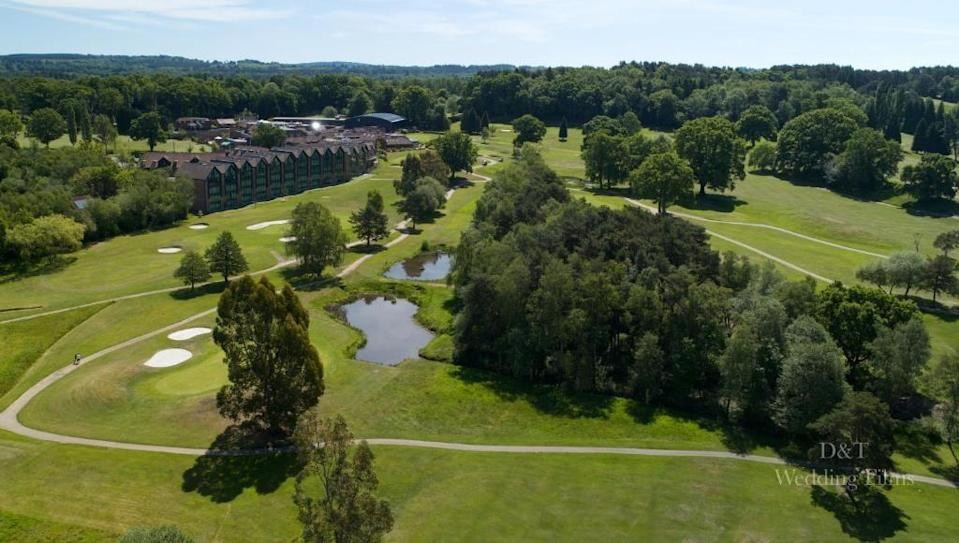 """<p>A resort hotel on acres of immaculate golf course, <a href=""""https://go.redirectingat.com?id=127X1599956&url=https%3A%2F%2Fwww.booking.com%2Fhotel%2Fgb%2Foldthornshotel.en-gb.html%3Faid%3D2070936%26label%3Dprima-family-hotels-uk&sref=https%3A%2F%2Fwww.prima.co.uk%2Ftravel%2Fg37009633%2Ffamily-hotels-uk%2F"""" rel=""""nofollow noopener"""" target=""""_blank"""" data-ylk=""""slk:Old Thorns"""" class=""""link rapid-noclick-resp"""">Old Thorns</a> is a friendly place with all the facilities you could wish for. With an on-site Starbucks, sports bar and restaurant, along with state-of-the-art gym, pool, wellness suite and spa, you can keep the whole family entertained. </p><p>Accommodation ranges from super swanky over-sized three-bedroom self-catering apartments to tiny wooden eco pods. The fact there are flexible options makes it a great choice for big families. We love the option for all-day dining in the Sports Bar, with a crowd-pleasing menu of burgers, hot dogs, steaks, salads, curries and sandwiches - perfect for feeding the kids, parents and grandparents.</p><p><a href=""""https://www.primaholidays.co.uk/offers/hampshire-liphook-old-thorns-hotel"""" rel=""""nofollow noopener"""" target=""""_blank"""" data-ylk=""""slk:Read our review of Old Thorns"""" class=""""link rapid-noclick-resp"""">Read our review of Old Thorns</a></p><p><a class=""""link rapid-noclick-resp"""" href=""""https://go.redirectingat.com?id=127X1599956&url=https%3A%2F%2Fwww.booking.com%2Fhotel%2Fgb%2Foldthornshotel.en-gb.html%3Faid%3D2070936%26label%3Dprima-family-hotels-uk&sref=https%3A%2F%2Fwww.prima.co.uk%2Ftravel%2Fg37009633%2Ffamily-hotels-uk%2F"""" rel=""""nofollow noopener"""" target=""""_blank"""" data-ylk=""""slk:CHECK AVAILABILITY"""">CHECK AVAILABILITY</a></p>"""