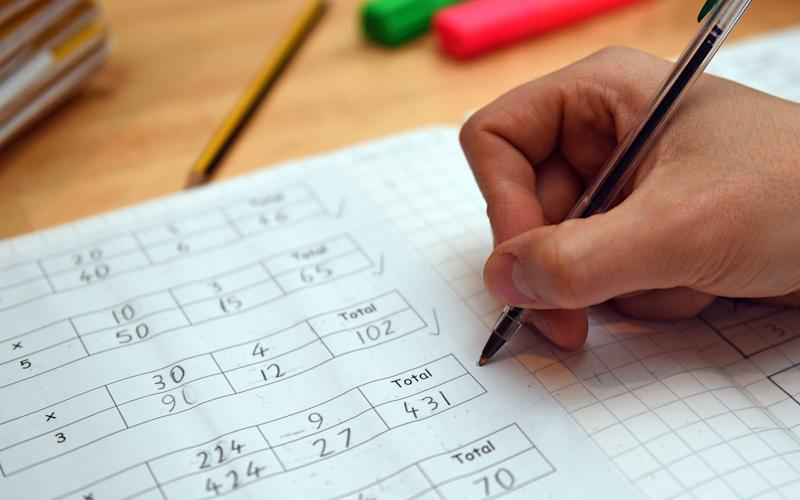 Schools may teach a slimmed-down curriculum focusing on maths and English when children return in September, according to draft government plans
