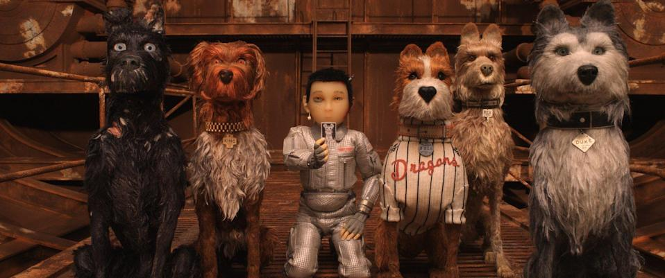 Isle of Dogs (Credit: Fox Searchlight via AP)