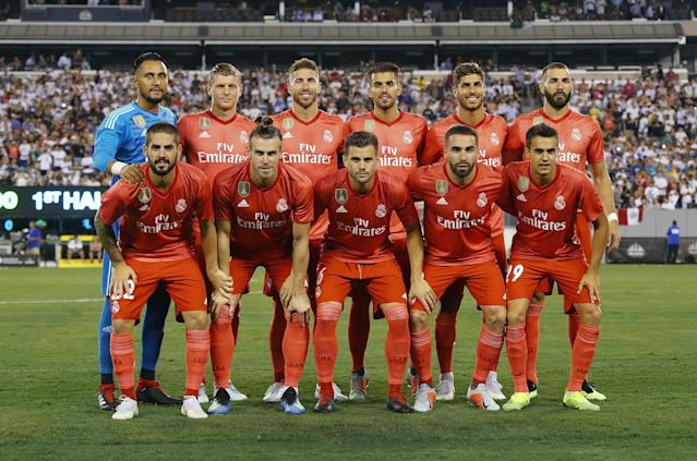 Real Madrid played a number of pre-season games in the USA recently