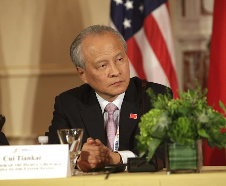 Last week, the Chinese ambassador to the United States, Cui Tiankai, made his debut on Twitter