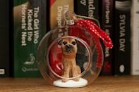 """<p>A gorgeous bespoke clay polymer figurine of your beloved pet in a glass bauble. Delightful!</p><p>£30 <a href=""""https://img1.etsystatic.com/108/0/12405923/il_570xN.929314175_7qve.jpg"""" rel=""""nofollow noopener"""" target=""""_blank"""" data-ylk=""""slk:Made By Izzy Gifts"""" class=""""link rapid-noclick-resp"""">Made By Izzy Gifts</a></p>"""
