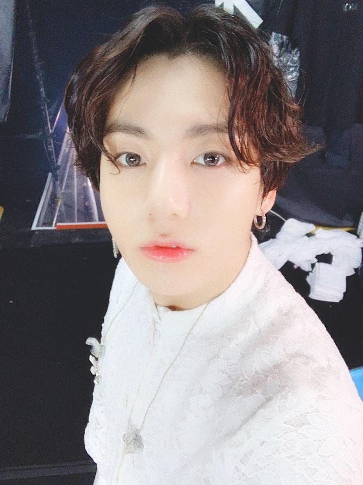"A long list of male idols took their hair to longer lengths this year, but Jungkook drew the most attention. (He even became the <a href=""https://www.allure.com/story/bts-jungkook-long-hair-viral?mbid=synd_yahoo_rss"">top trending topic</a> in the U.S. on Twitter after the Lotte Duty Free Family Concert in August because of his hair.) Although he has since gone shorter once again, <a href=""https://www.allure.com/story/k-pop-group-bts-beauty-secrets-interview?mbid=synd_yahoo_rss""><strong>BTS</strong></a> fans will never forget the look."