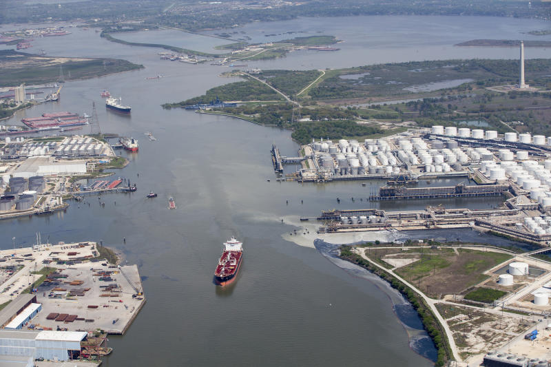 Full reopening of Houston Ship Channel unclear after fire