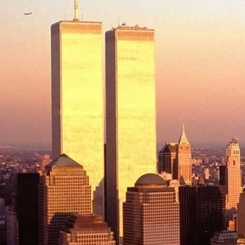 The card was shared online on the anniversary of the September 11 terrorist attacks. Photo: Getty