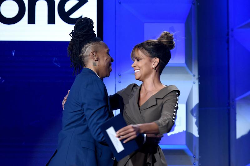 Lena Waithe and Halle Berry