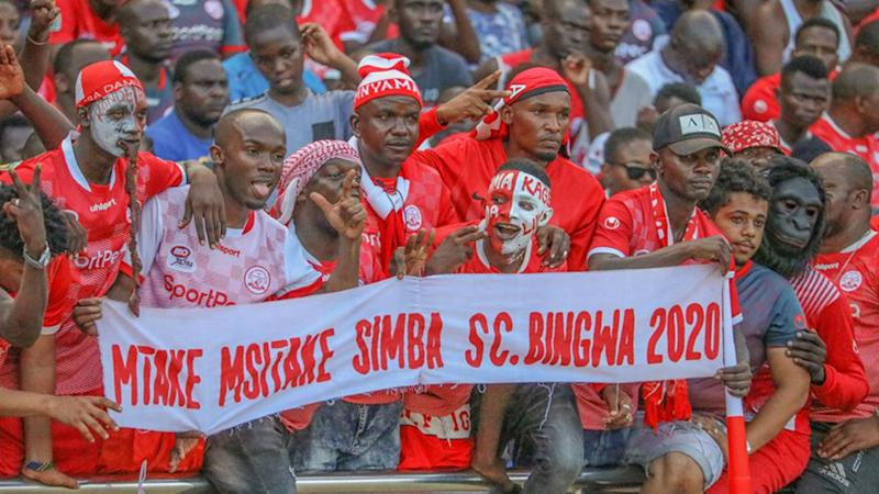 Tanzania Prisons vs Simba SC to have fans after government rescind ban decision