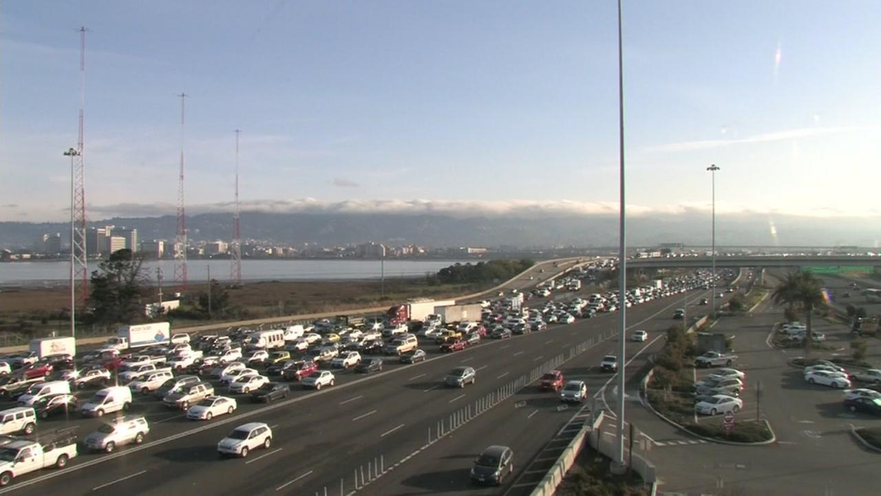 It was a grueling commute for thousands of East Bay drivers Tuesday morning, stuck in a backup Caltrans says was caused by a software glitch.